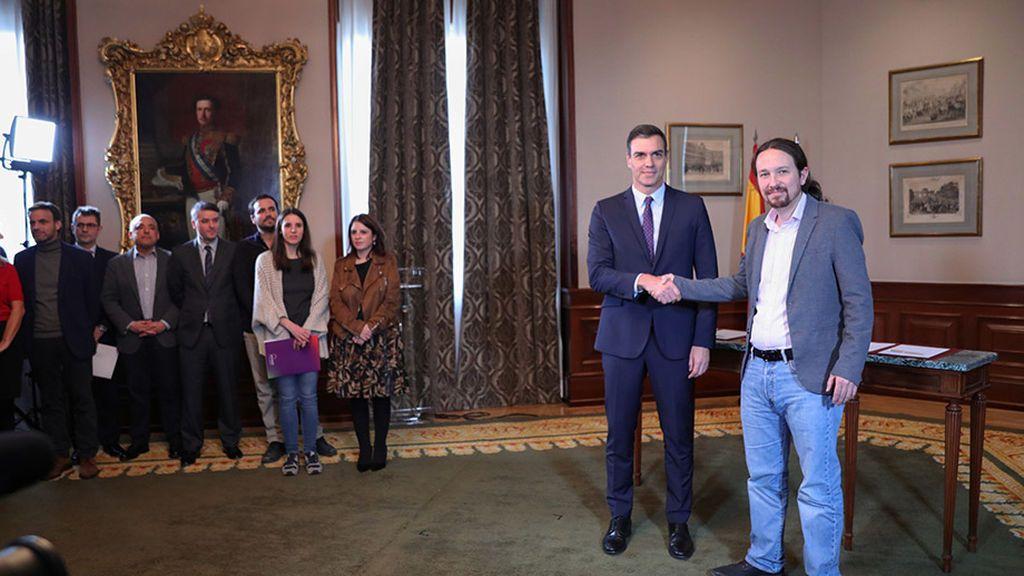 El PSOE comienza la negociación para conseguir más apoyos para Sánchez