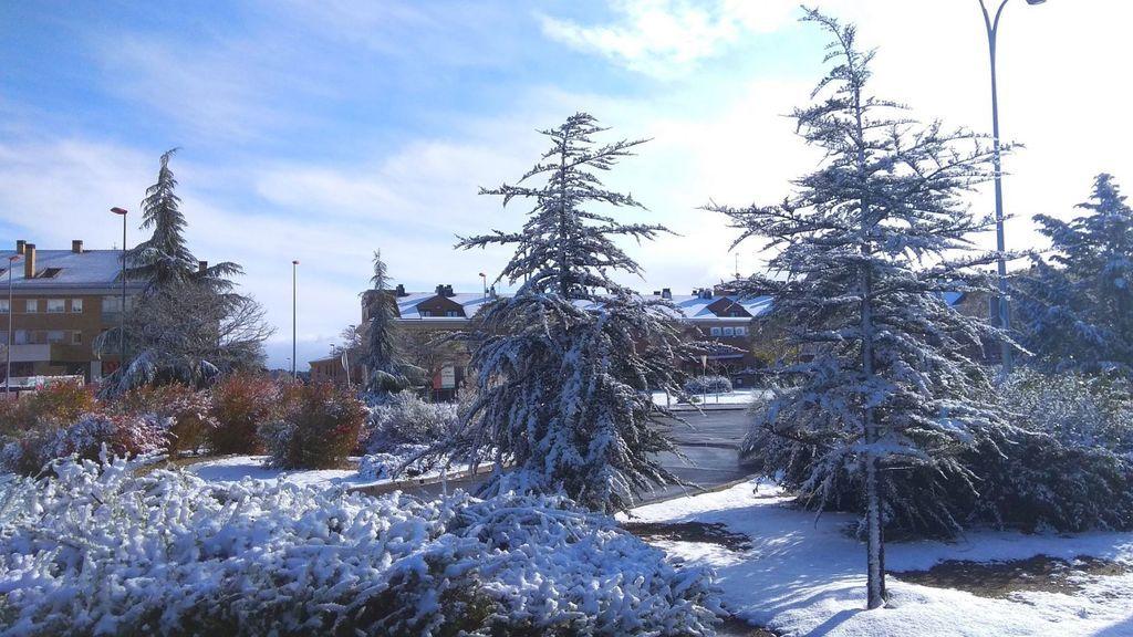 La nieve llegará a capitales de provincia: Segovia, Ávila y León se cubren de blanco