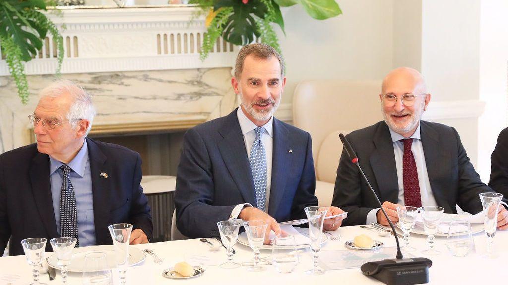 Encuentro de Felipe VI con los empresarios españoles en Cuba