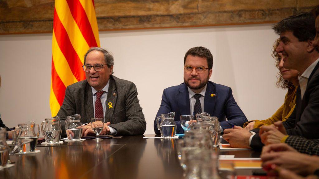 El independentismo pone como requisito crear una mesa de partidos para investir a Sánchez