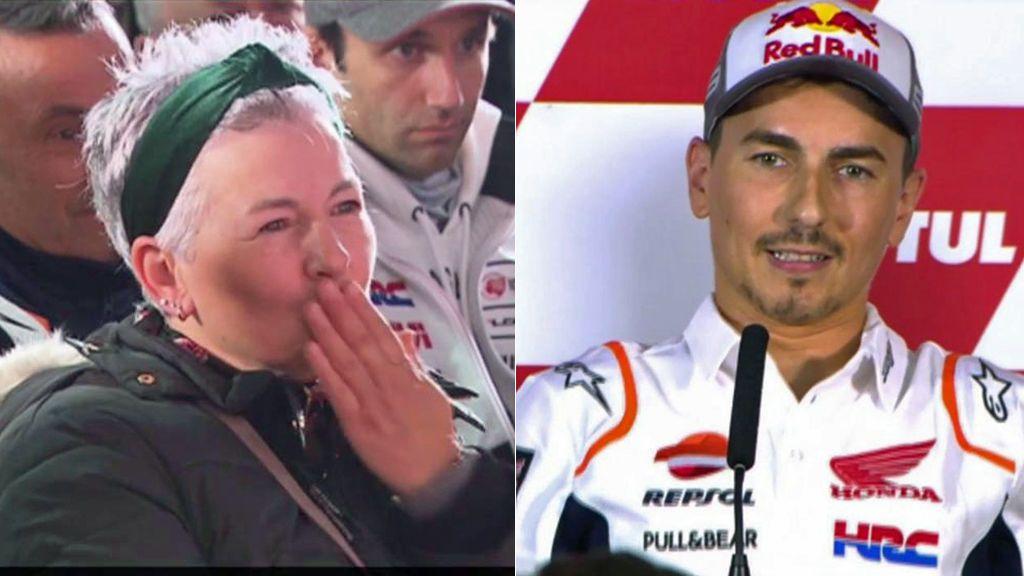 Jorge Lorenzo se emociona en su adiós a MotoGP