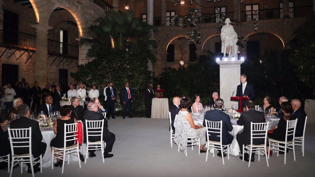 Las imágenes de la histórica visita de los reyes a La Habana