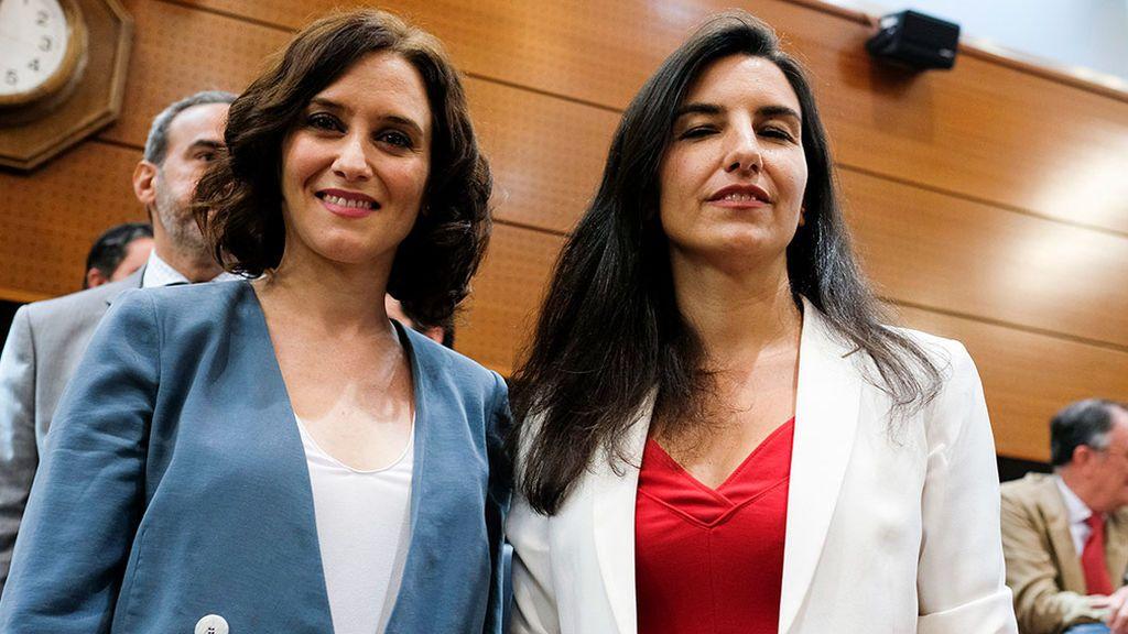 Díaz Ayuso vs Rocío Monasterio