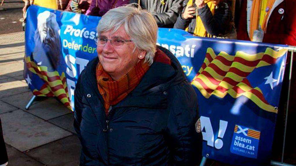 El juez de Edimburgo deja en libertad a la exconsellera Clara Ponsatí