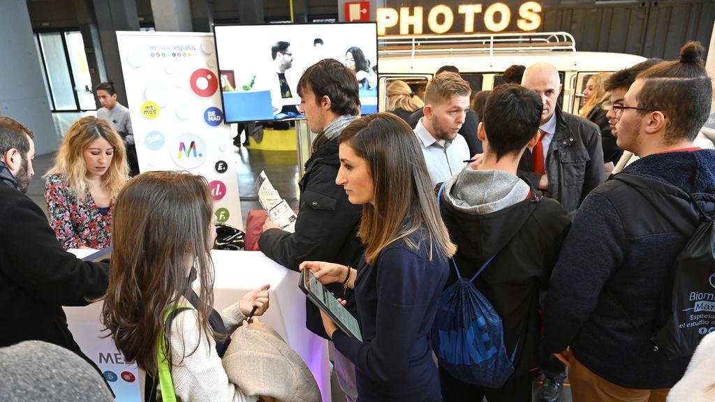Mediaset España participa por tercer año consecutivo en la Feria del Empleo en la Era Digital