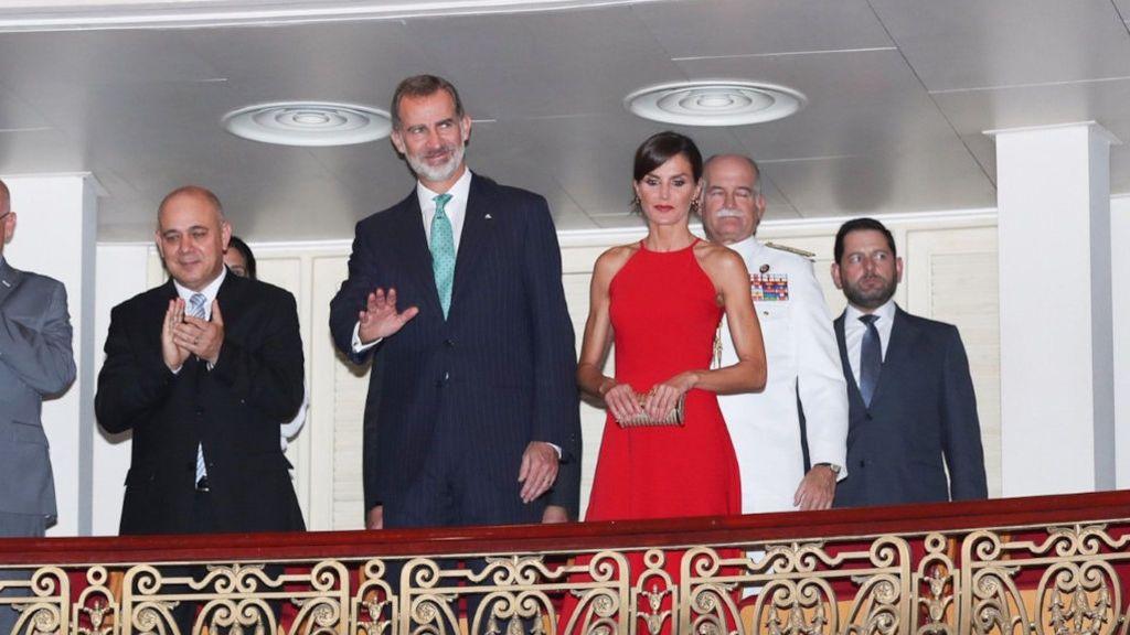 Las imágenes históricas de los reyes en su visita a La Habana