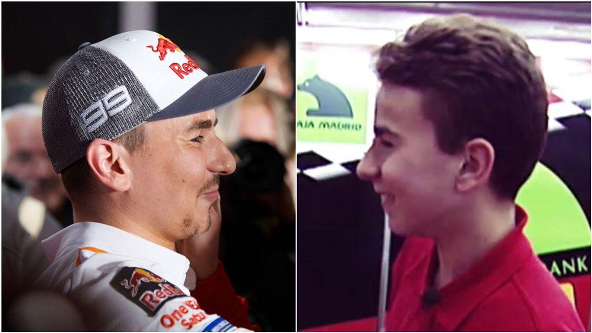 Los 4 momentos de los que habló Jorge Lorenzo: del debut en 125cc con Derbi en Jerez a su retirada