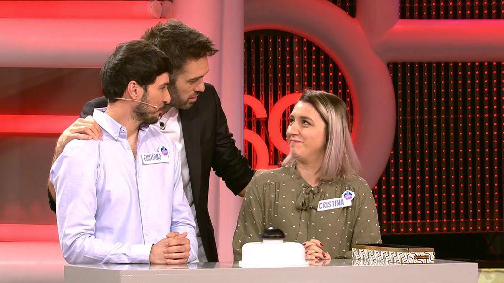 Cristina y Guillermo no consiguen adivinar la edad del desconocido y pierden todo el dinero en la ronda final