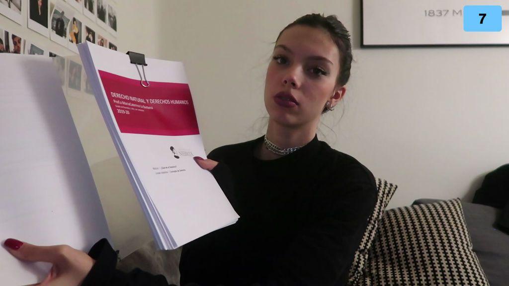 """Alejandra cuenta el estrés que ha vivido tras sus exámenes: """"Me ha salido un herpes en toda la cara"""" (2/2)"""