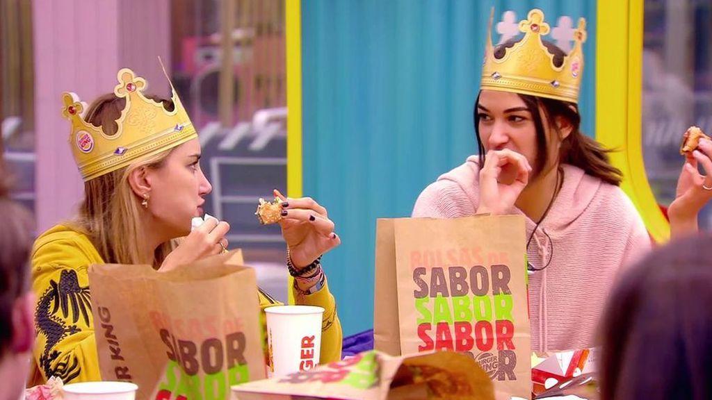 Una cena con un giro sorprendente: los concursantes enloquecen al descubrir que la hamburguesa que habían comido era vegetariana