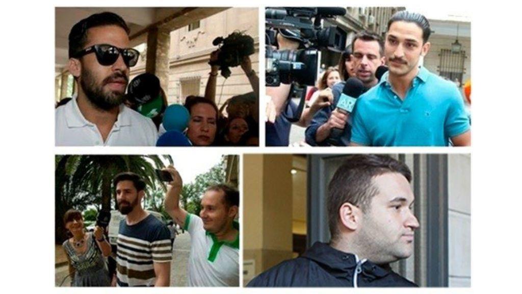 Comienza el juicio contra 'La Manada' por presuntos abusos sexuales a una joven de Pozoblanco