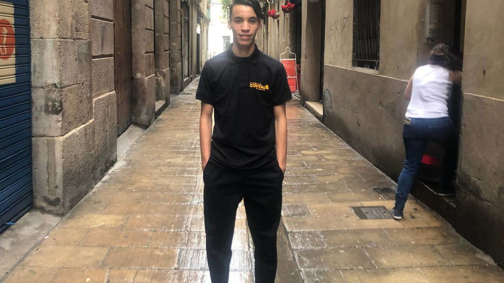 Llegó en un camión escondido desde Marruecos y ahora juega en el Español juvenil