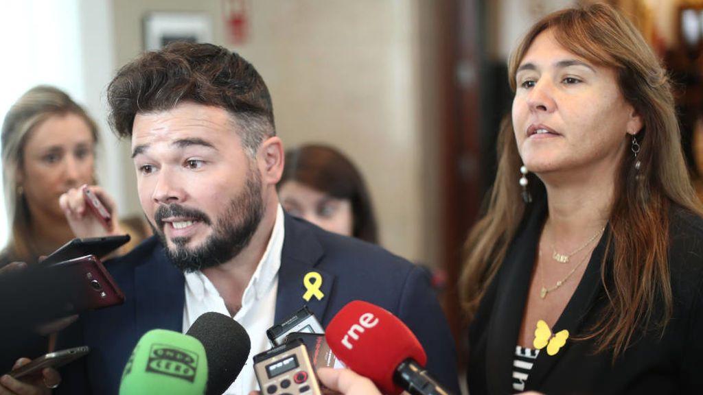ERC y JuntsxCat dispuestos a hacer un frente común respecto la investidura de Sánchez