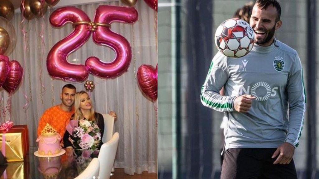 """Jesé le regala una fiesta a su novia por su 25 cumpleaños: """"Que este día llene tu corazón"""""""