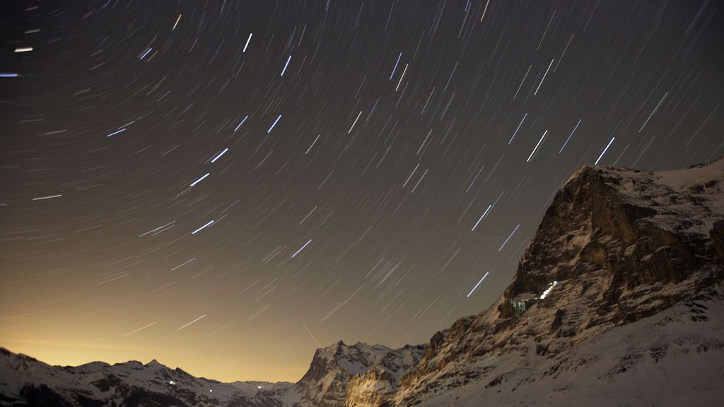 'Leónidas' con paisaje nevado: cuándo podrás ver la lluvia de estrellas más blanca