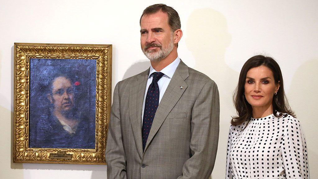 Los reyes en el Museo de Bellas Artes de La Habana