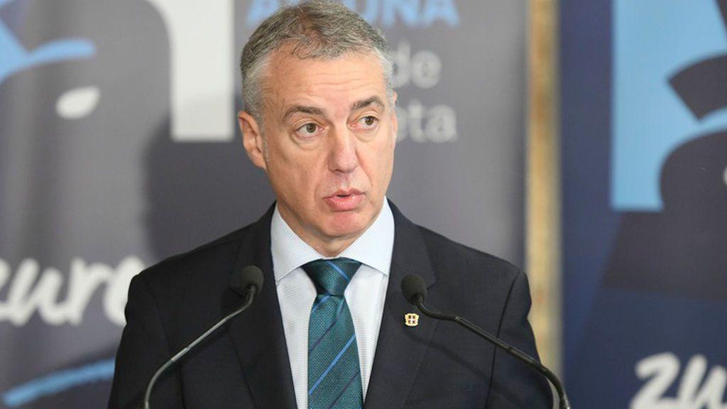 """Urkullu avanza la """"disposición absoluta"""" del PNV a la gobernabilidad"""