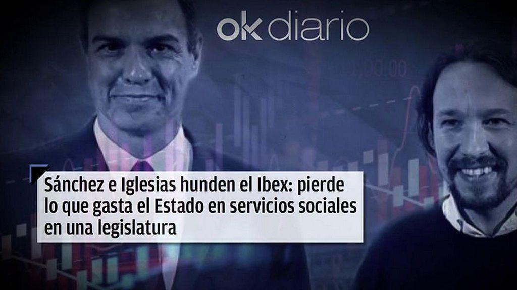 Los pronósticos de 'Indadamus': Eduardo Inda acusa a PSOE y Podemos del hundimiento del IBEX