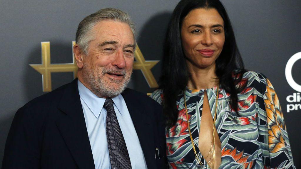 De Niro y su hija Drena