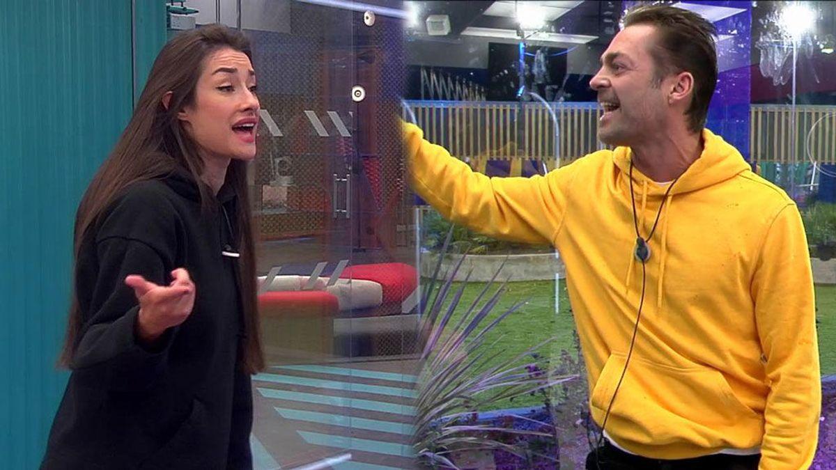 Adara se derrumba tras una discusión con Hugo: