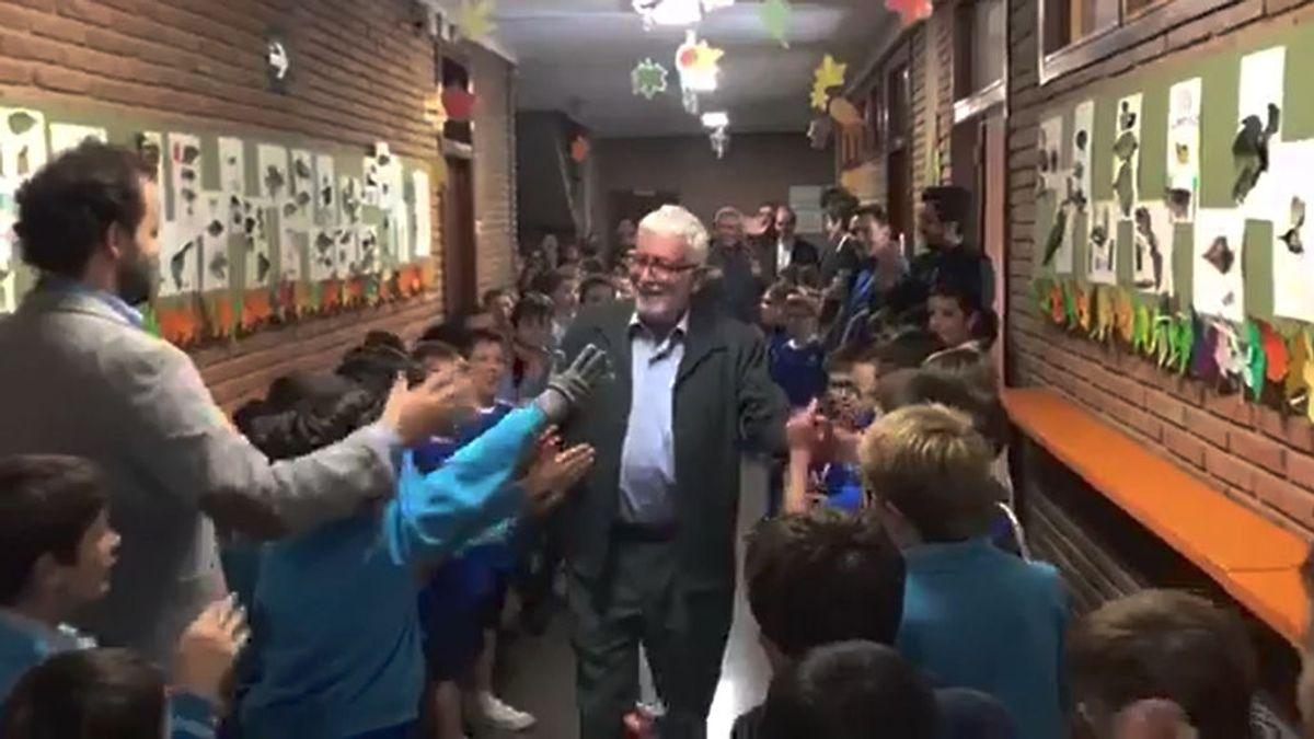 Despedida profesor jubilado