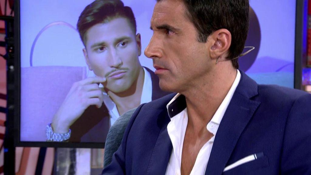 """Gianmarco le echa en cara a Hugo Sierra que acuda a los platós a hablar de Adara y él se molesta: """"¿Esto es un debate o una entrevista?"""""""