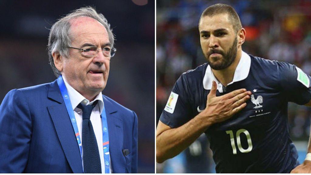 """Benzema al presidente de la Federación francesa de fútbol: """"Yo, y sólo yo pondré fin a mi etapa en la selección"""""""
