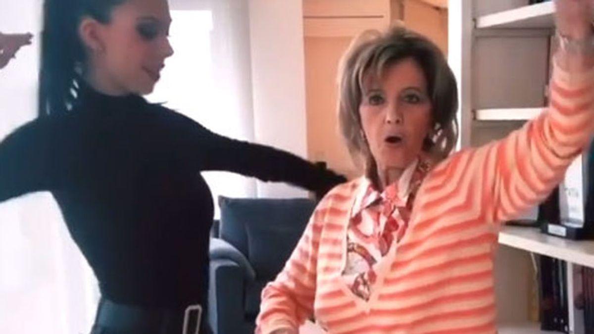 María Teresa Campos, de 'reina de las mañanas' a 'reina del reggaeton' en la red