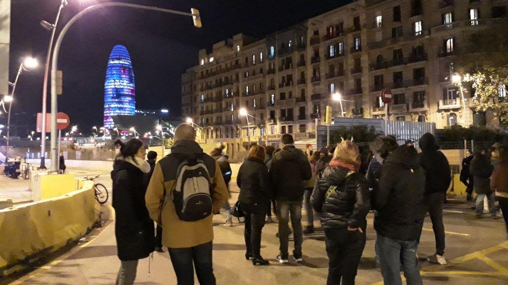 Los CDR vuelven a bloquear el tráfico en Barcelona