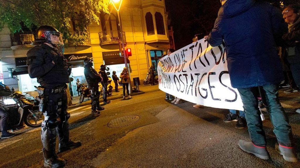 En directo: los CDR llaman a bloquear el tráfico en la Gran Vía de Barcelona