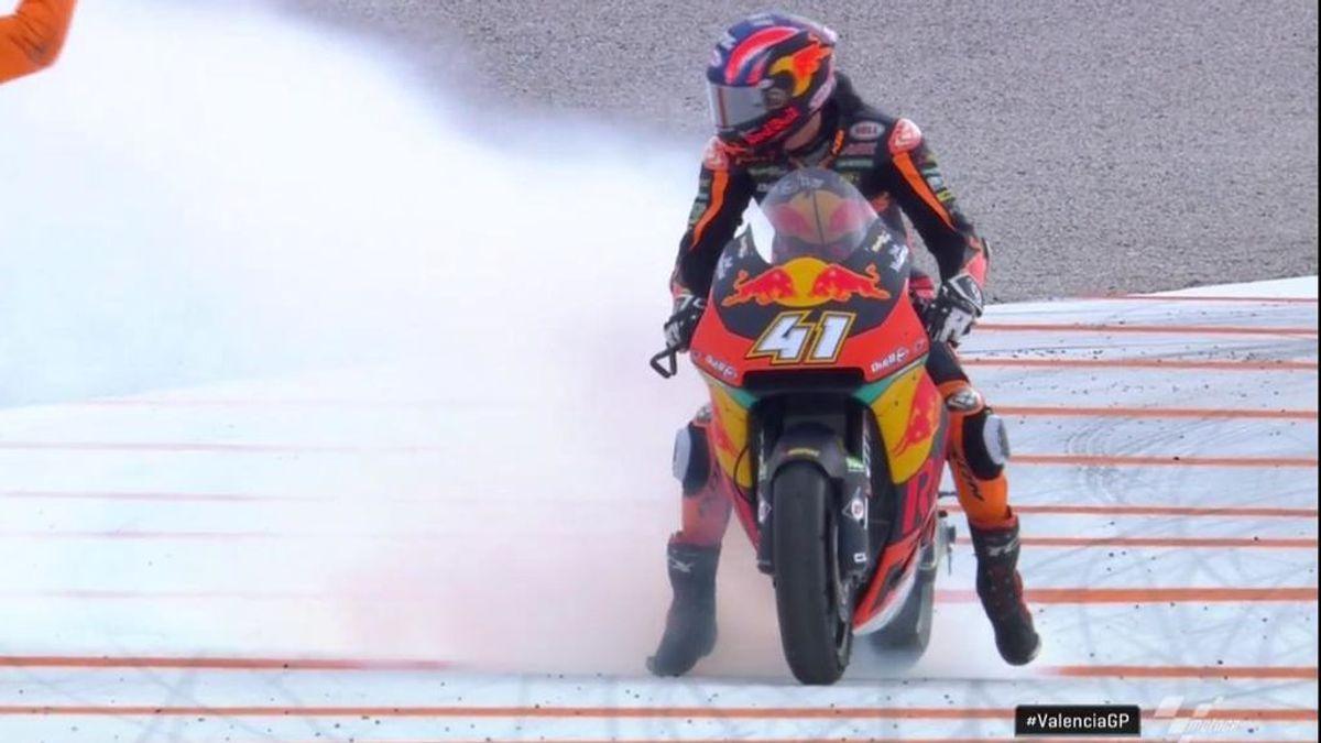 Binder despide la temporada con una triunfo en Moto2