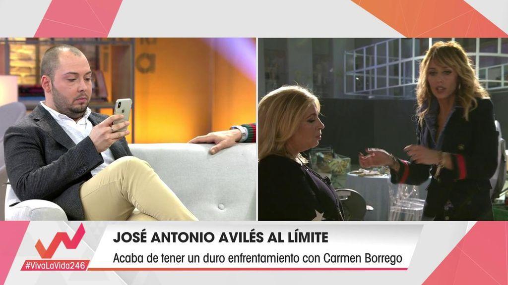 El enfrentamiento entre José Antonio y Carmen
