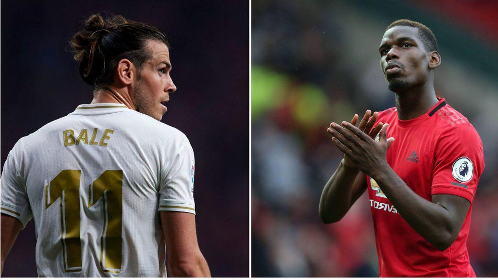 El Manchester United quiere a Bale en enero y estaría dispuesto a ofrecer a Pogba a cambio