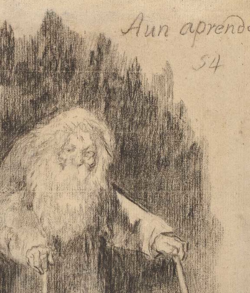 Dibujo de Francisco de Goya