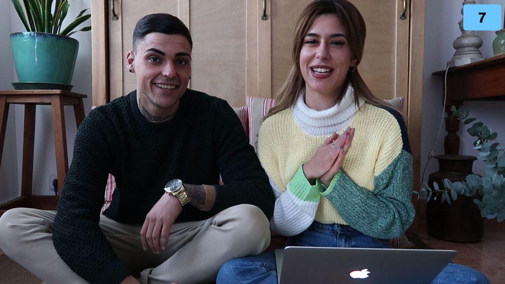 """Bea y Adrián nos hablan de su nueva vida en pareja: """"Tenemos mucho carácter y cuando nos encendemos chocamos"""" (1/2)"""