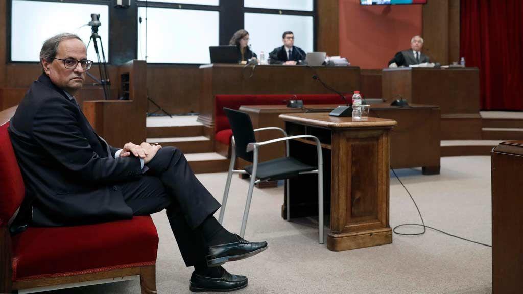 Minuto a minuto: Torra, ante el juez por desobediencia