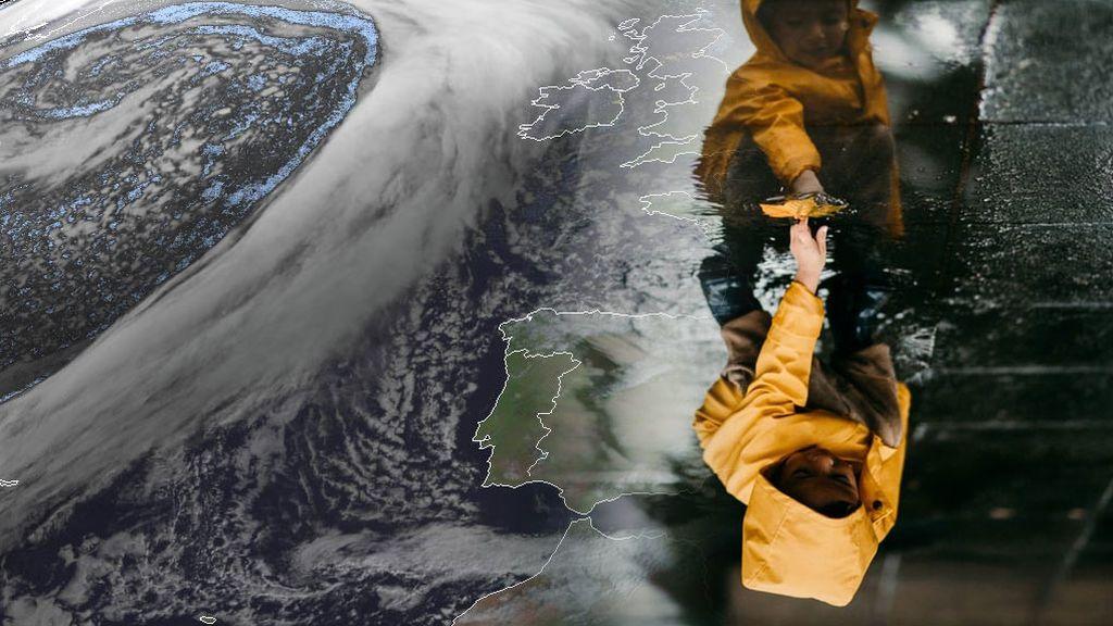 Potente borrasca al oeste de Irlanda: cómo nos va a afectar