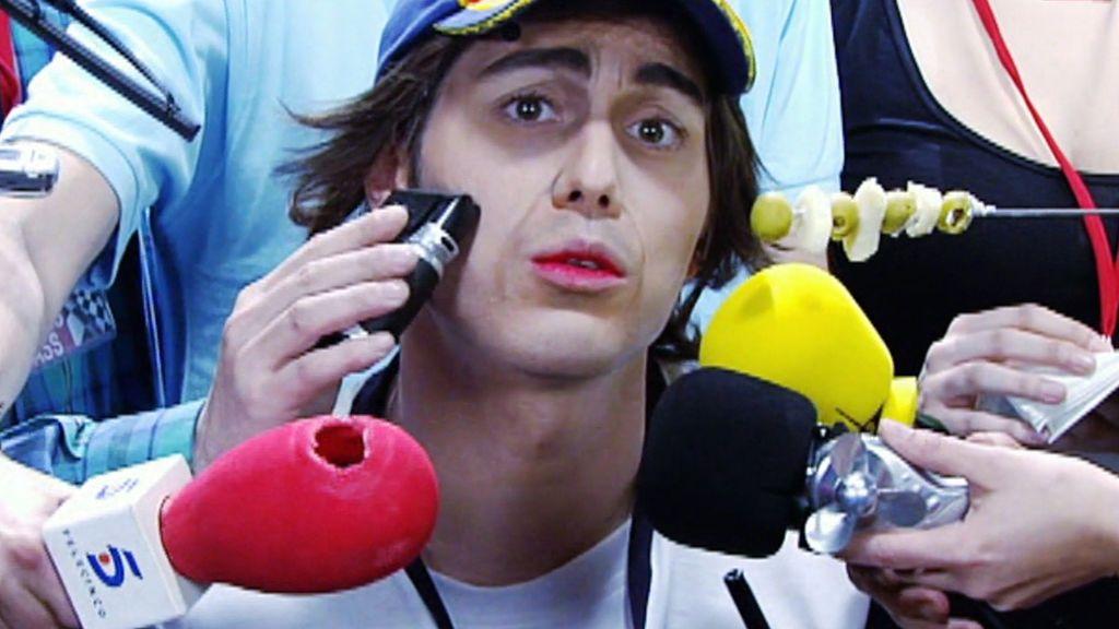 La primera imitación de Dani Martínez en Telecinco