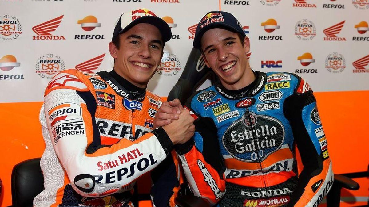 Álex Márquez será compañero de su hermano Marc en Repsol Honda la próxima temporada