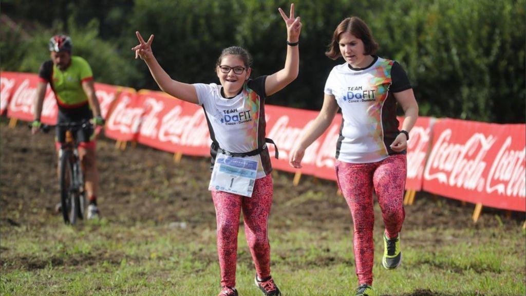 Sara Vieites, la niña de 11 años a la que le dijeron que nunca andaría pero que ahora disputa carreras
