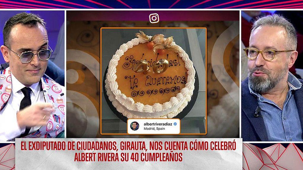 Risto Mejide no ha sido invitado al 40 cumpleaños de Rivera