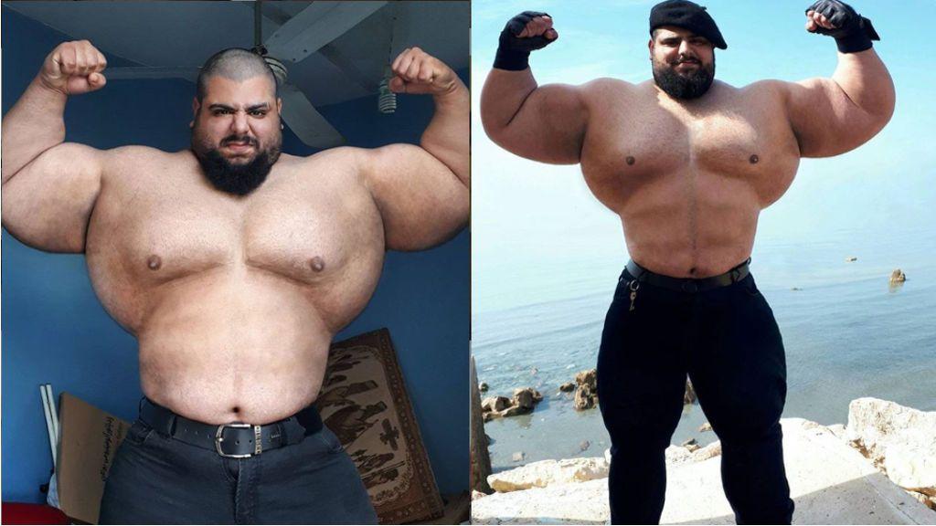 """El 'Hulk iraní' de 180 kilos combatirá en las peleas más sangrientas del mundo: """"Haremos un espectáculo titulado EEUU vs. Irán: la III Guerra Mundial"""""""