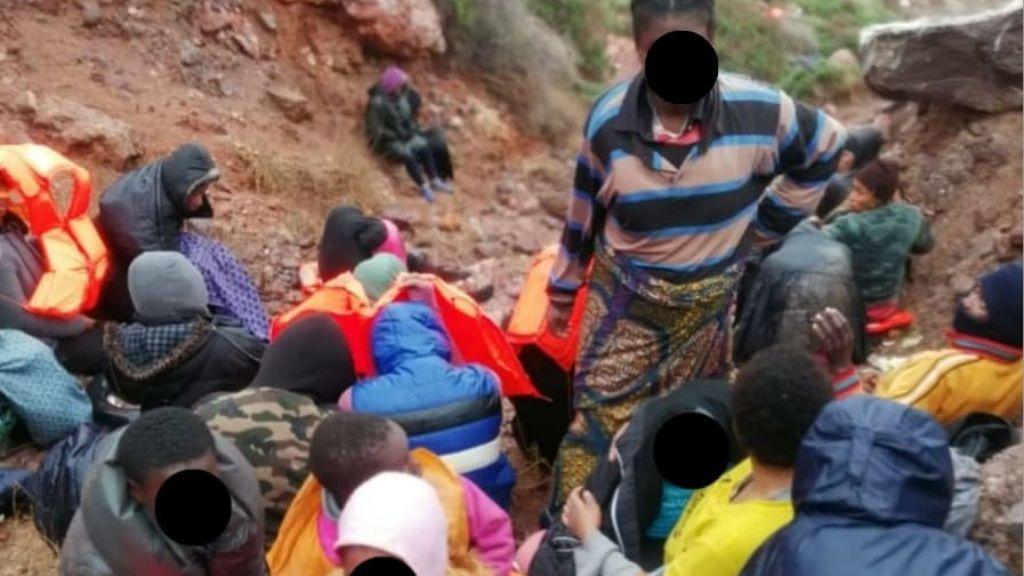 Los 81 inmigrantes pasarán la noche en Las Islas Chafarinas