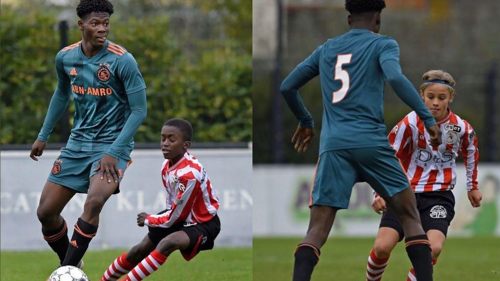 14 años y 1.90 metros: David Easmon, el joven central sub-15 que promete en el Ajax