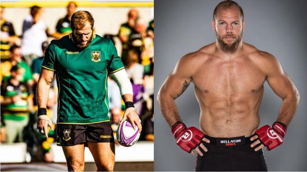Un estrella del rugby cambia su vida por completo y se mete en el mundo de las artes marciales mixtas