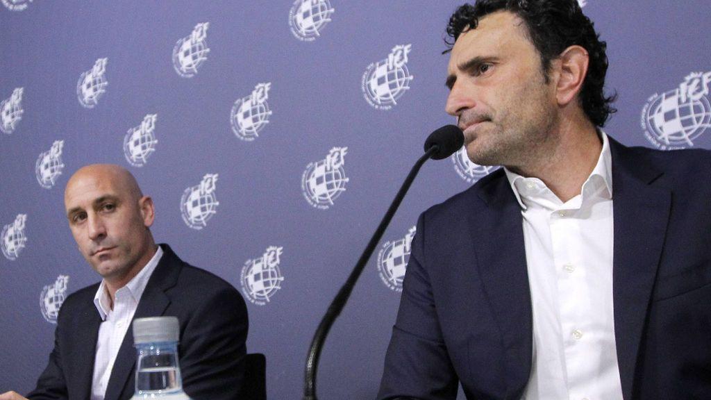 """Rubiales habló con los capitanes sobre la salida de Robert Moreno: """"Explícalo como a nosotros mañana"""""""