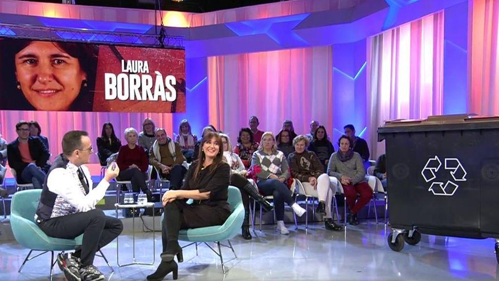 """Laura Borràs: """"Quemar un contenedor no es violencia"""""""