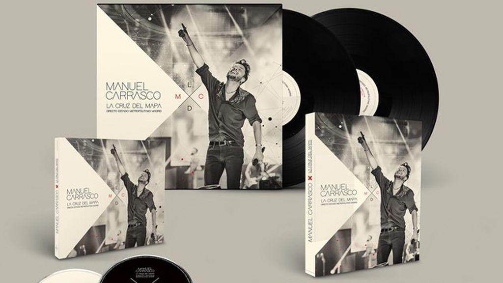 El nuevo proyecto de Manuel Carrasco que inmortaliza el concierto en directo de La Cruz del Mapa Tour