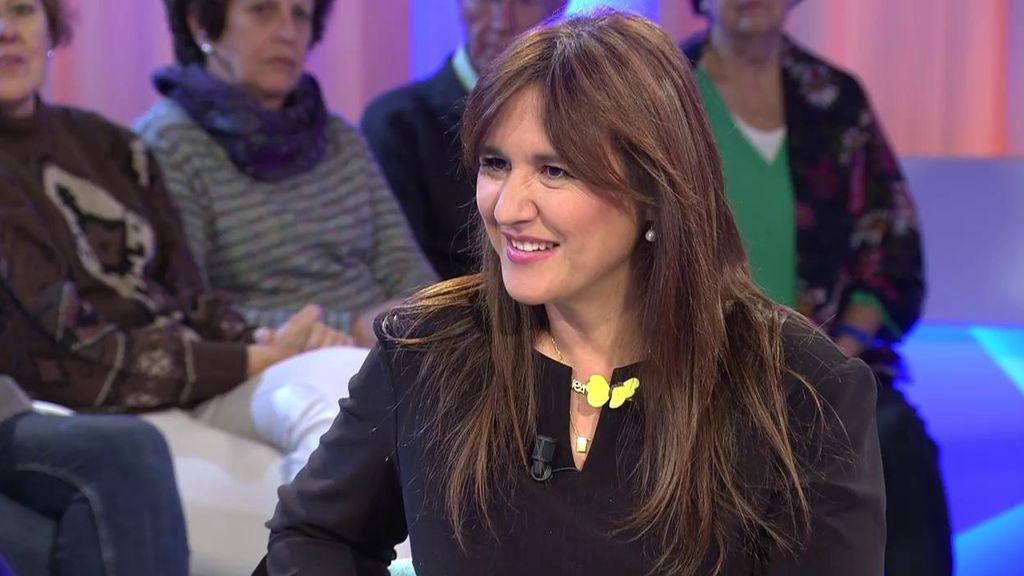 """Laura Borràs, de 'Junts per Catalunya': """"Tsunami Democràtic somos la gente"""""""