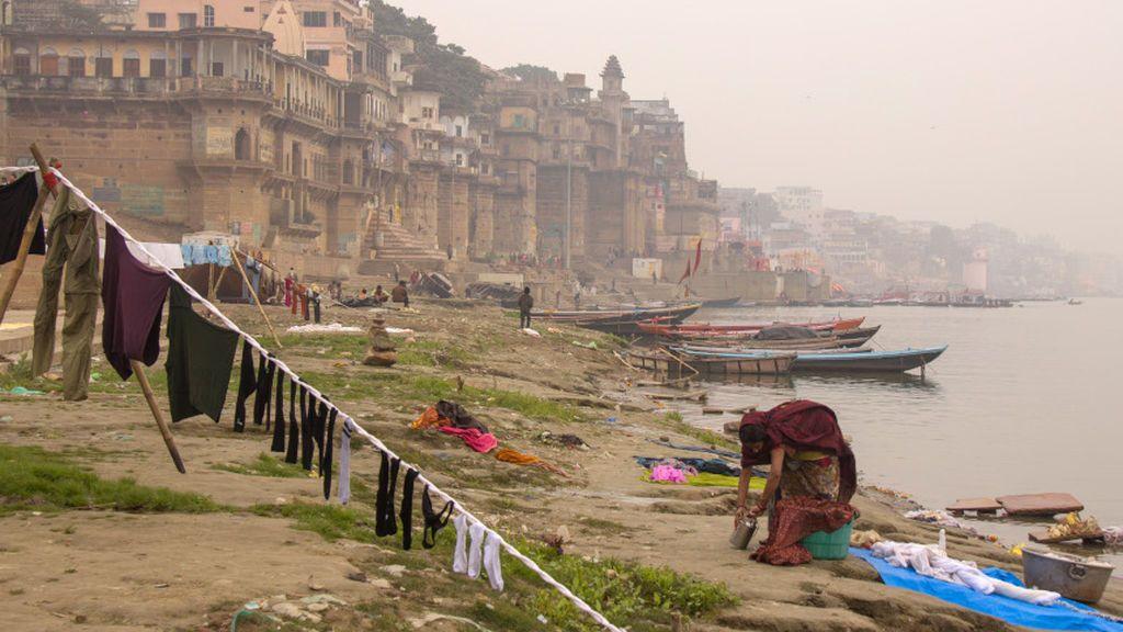 `Ganges, el río sagrado´, la exposición fotográfica de una aventura de 3.000 kilómetros